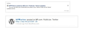 Wordpress Publicize results for Yahoo! Profiles and Twitter